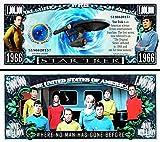 Anime Source Star Trek 1966 Television Series Commemorative Novelty Million Bill with Semi-Rigid Protector