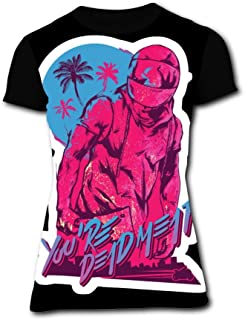 Richelle shop Hotline Miami (2) T-Shirts 3D Printed - Funny Short Sleeve for Women