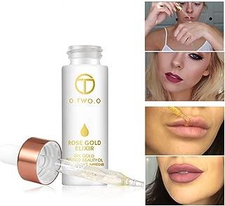 24k Rose Gold Elixir Skin Make Up Oil For Face Essential Oil Before Primer Foundation Moisturizing Face Oil Anti-aging