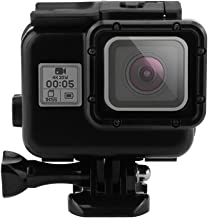 Outtek 6'' Dome Port Lens for Gopro Hero 5, Shoot Waterproof Diving Housing with Transparent Lens Cover + Handheld Floating Bar for Underwater Photography – Black
