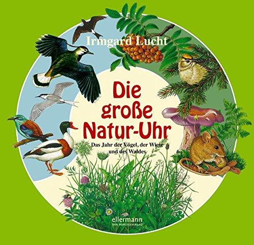 Die große Natur-Uhr: Das Jahr der Vögel, der Wiese und des Waldes