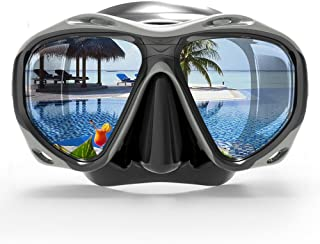 Fakeface Junior Kids Youth Diving Masks Silicone Waterproof No Leaking Anti-Fog Wide Clear Vision Swim Goggles for Girls Boys Shatterproof Swimming Glasses Safe Diving Snorkeling Mask Speedo Watertight Swimming Glasses Safety Diving Snorkeling Mask Speedo
