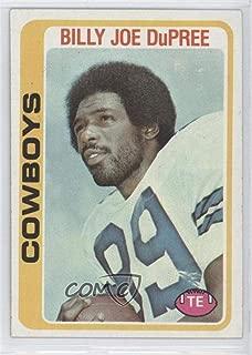 Billy Joe DuPree (Football Card) 1978 Topps - [Base] #470