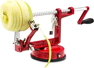 Cast Magnesium Apple/Potato Peeler Corer by Spiralizer, Durable Heavy Duty Die Cast Magnesium...