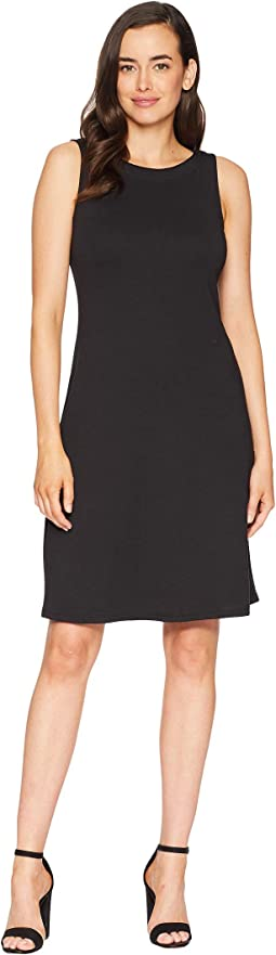Drapey Ponte Sheath Dress