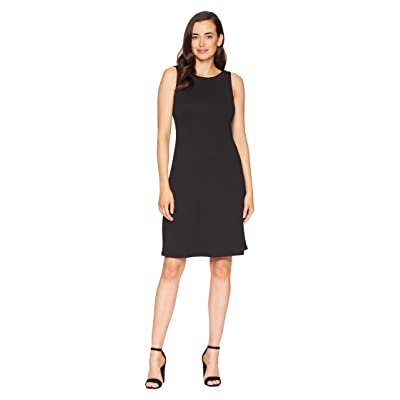 Tommy Bahama Drapey Ponte Sheath Dress (Black) Women