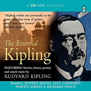 The Essential Kipling cover art