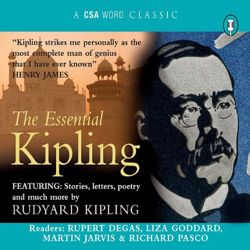 The Essential Kipling audiobook cover art