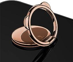 Telefoon Ring Beugel 360 ° Roteren Zinklegering Ultra-Dunne Bear Ring Beugel Vinger Telefoon Ring Houder Het Kan worden ge...