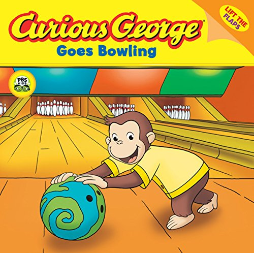 Compare Textbook Prices for Curious George Goes Bowling CGTV Lift-the-Flap 8x8 First Edition ISBN 9780618800414 by Rey, H. A.