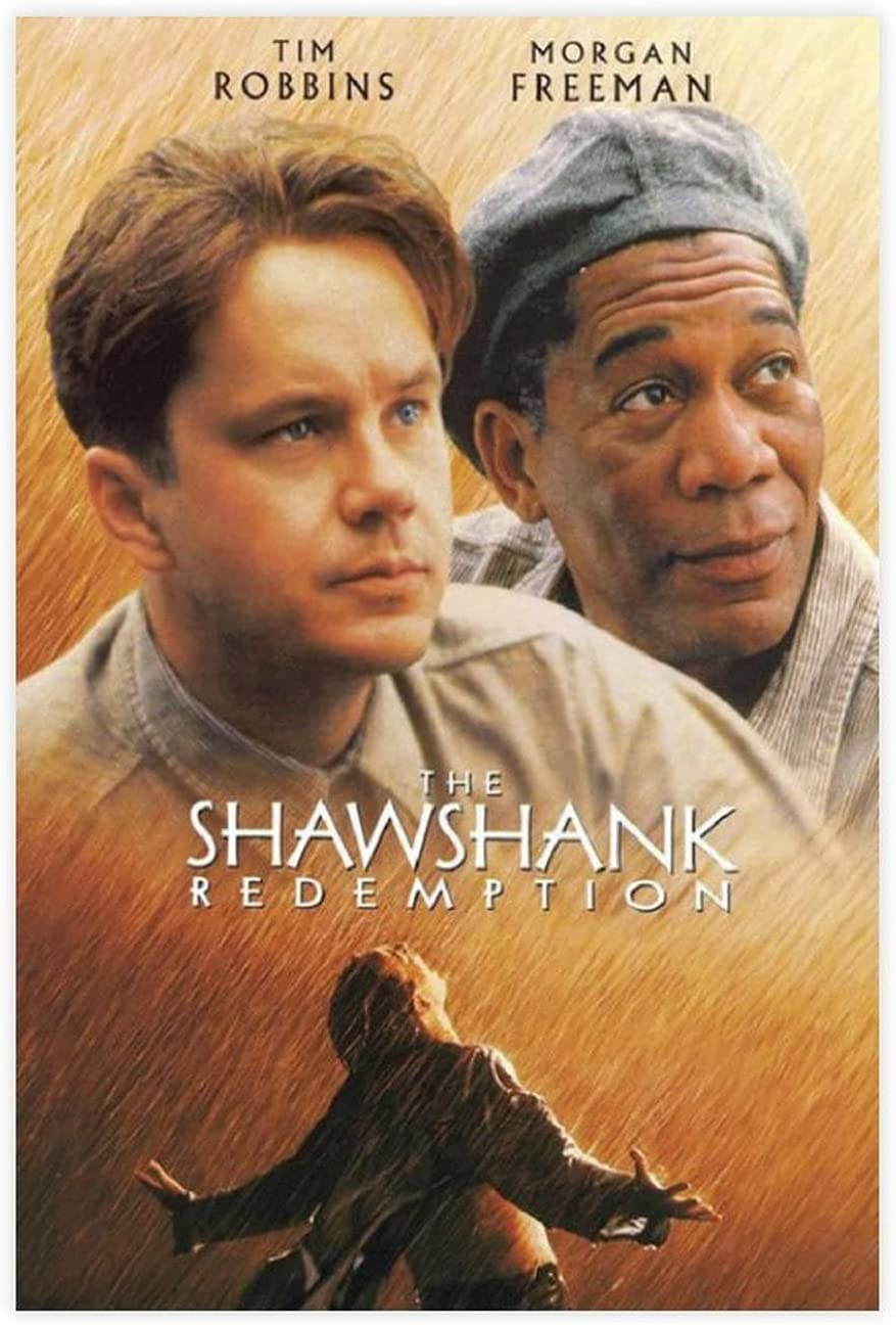 Free Shipping New Luxury goods Nostalgic Classic Old Movie The Cover Redemption Poste Shawshank