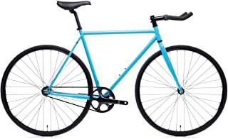State Bicycle 4130 Chromoly Steel Fixed Geared Bike | Single Speed Bullhorn Handlebar