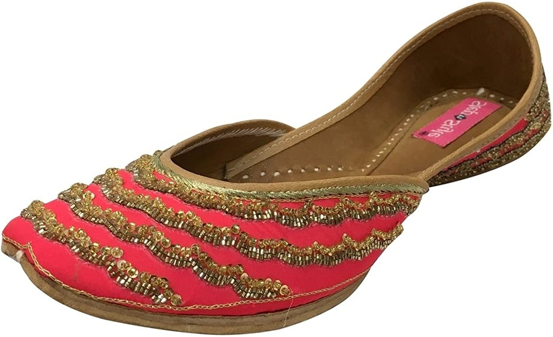 Step n Style Designer shoes Indian Ethnic Wear Dance Balley Punjabi Jutti Flat Khussa
