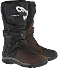 Alpinestars Corozal Adventure Drystar Men's Off-Road Motorcycle Boots - Brown Oiled Leather / 10