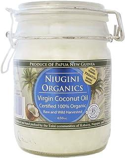 Niugini Organics Organic Virgin Coconut Oil, 650 Milliliters