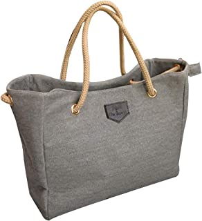 Kwok Women Canvas Big Bag Trend Simple Shopping Bag Shoulder Bag Crossbody Bag Messenger Bag Wallet Mobile Phone Bag