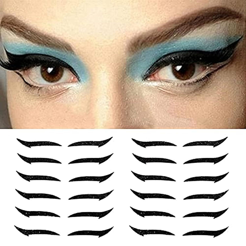 Topics on TV Challenge the lowest price of Japan 15Pairs eyeliner stickers eye eyelid tape liner Lightwe