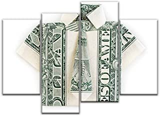 origami shirt out of a dollar bill