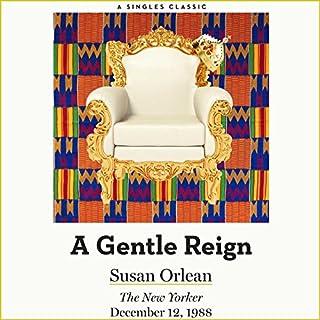 A Gentle Reign audiobook cover art