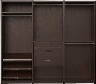 Best java real wood closet organizer kit Reviews