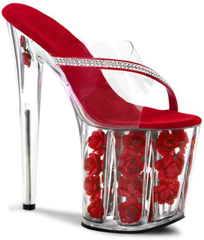 Kitzen Ladies High Heel Slippers Peep Toe Seali Summer Platform Fibbia tuttia Caviglia