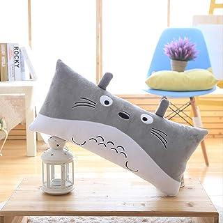 Cute Dibujos Animados Totoro Almohada Larga De Peluche De Juguete Sofá Pareja Almohada Larga Regalo De Cumpleaños 90 Cm