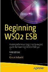 Beginning WSO2 ESB Kindle Edition