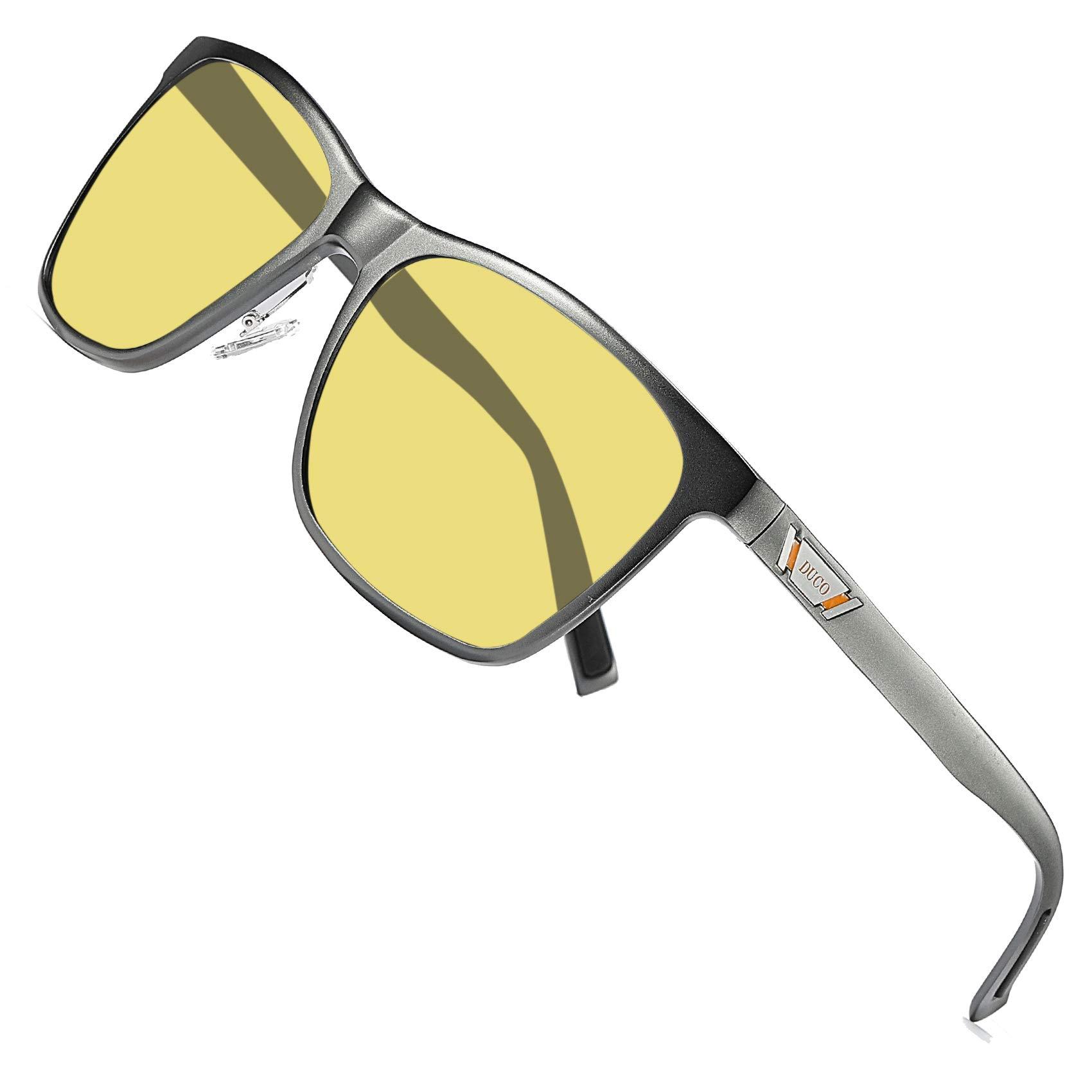 Duco Headlight Anti glare Polarized Gunmetal
