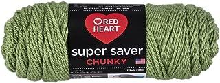Red Heart Super Saver Chunky, Tea Leaf Yarn
