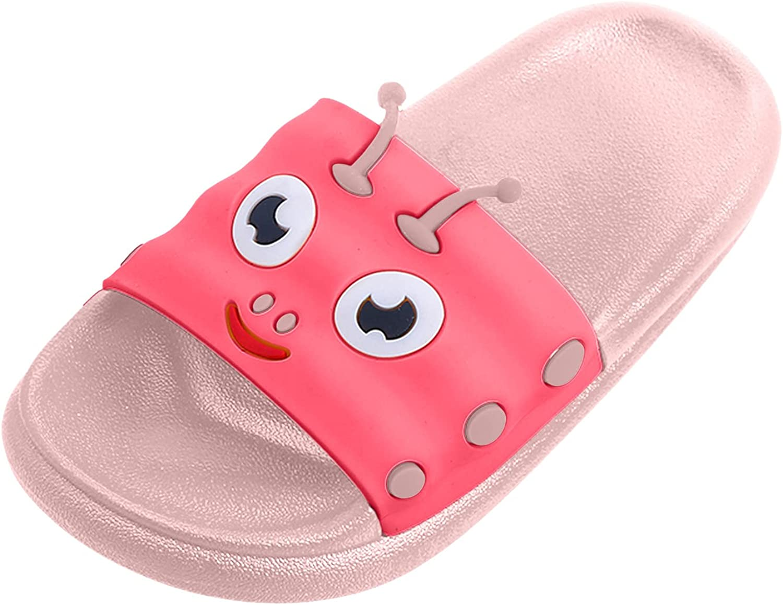 online shop Jchen latest Kids Slide Sandals Beach Slippers Cartoon Boys Girls Showe