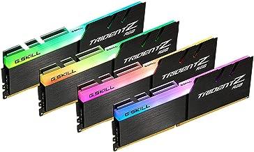 G.SKILL TridentZ RGB Series 32GB (4 x 8GB) 288-Pin DDR4 3600MHz Desktop Memory Model F4-3600C19Q-32GTZRB