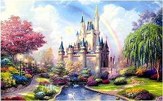 Landscape Jigsaw Puzzle 1000 Pieces for Adults Castle Pattern Adult Children Puzzle Intellective Educational Toy (H)