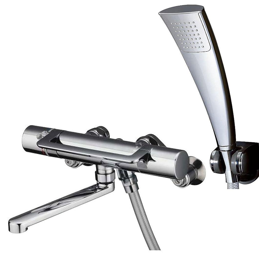 しみ宣教師拡声器TOTO 浴室用水栓 TMGG40QECR (エアインシャワー?めっき角型/アーチハンドル)
