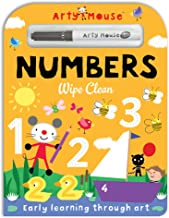 Arty Mouse Wipe Clean Numbers (Arty Mouse Wipe Clean Board Books)