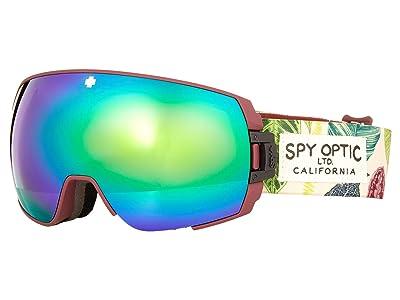 Spy Optic Legacy SE (Botanical/Bronze/Green/Persimmon/Silver Spectra Mirror) Goggles
