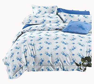 100% Cotton King Size Bedsheets (White)