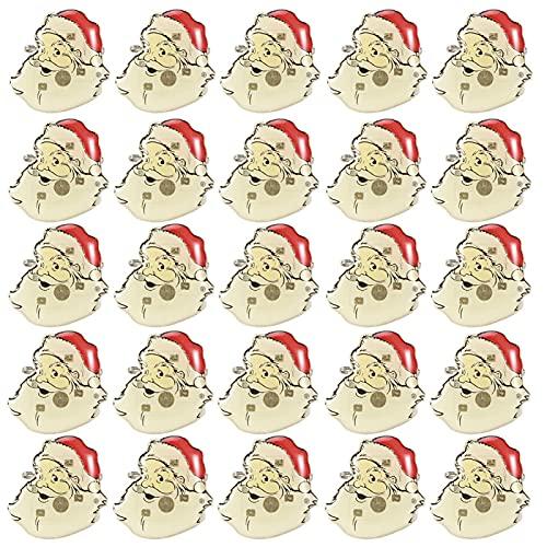 Navidad Broche Pin Insignia Tema LED Fiesta luminosa Decoración de bricolaje Árbol...