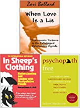 Psychopath Free, When Love Is a Lie and In Sheep's Clothing 3 Books Collection Set