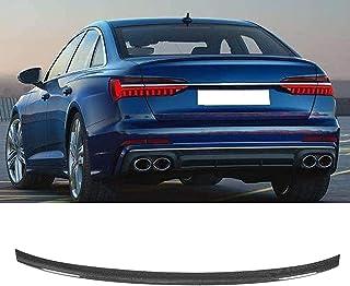 LADOG Spoiler posteriore universale in fibra di carbonio, adatto per Audi A6 C8 19-Up Universal Wing S6, può essere utiliz...