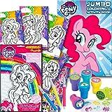 Libro de actividades para colorear My Little Pony con set y estampillas