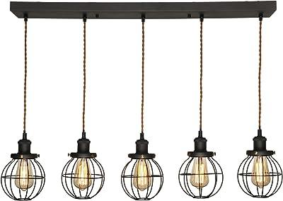 kwmobile Lámpara de puzzle colgante DIY - Iluminación de ...