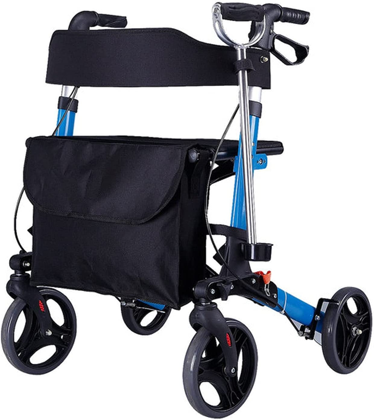 liangh Walkers At the price for Seniors with Seat Wal Foldable Adult Rollator 25% OFF