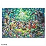 1000ピース ジグソーパズル ディズニー 森のフィルハーモニー (51x73.5cm)