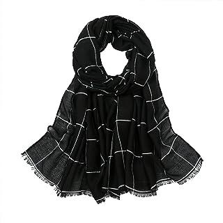 Scarf for Women Lightweight Floral Fashion Flower Scarves Shawl Wrap by Hophor