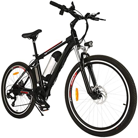 Speedrid Bicicletas eléctricas, Bicicletas Plegables eléctricas de 20/26/27.5 con Ruedas de aleación de magnesio, Bicicleta Eléctrica City para ...