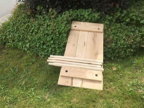 Sonder: Mittelalterlicher Steck- Tisch, Kanten gerade, L ca. 115cm, B ca. 55cm H ca. 75cm Flächen aus Eichenholz 25-30 mm mit 8-kantigen Beinen. Für Larp, Reenactor, Tavernenbestuhlung