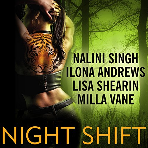 Night Shift                   By:                                                                                                                                 Ilona Andrews,                                                                                        Lisa Shearin,                                                                                        Nalini Singh,                   and others                          Narrated by:                                                                                                                                 Angela Dawe                      Length: 13 hrs and 10 mins     281 ratings     Overall 4.3