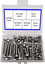 M6 304 Outer Corner Hexagonal Stainless Steel Hex Bolt Set Machinery Industry, Mechanical Hex Bolts and Nuts