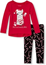 The Children's Place Baby Girls' Long Sleeve Top and Leggings Set