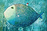HQHff Gran pez,Puzzles Adultos 1000 Piezas 75x50cm,3D Puzzles de Madera Adultos Regalo de Juguete Educativo para nios